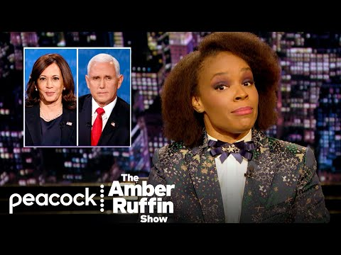Kamala Harris Drags Vice President Mike Pence at the Debate: Week In Review | The Amber Ruffin Show