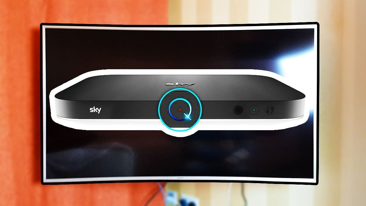How to Mount Sky Q box behind Curved Wall Mounted TV