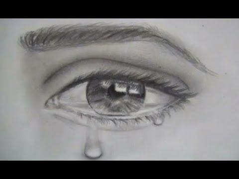 Como Dibujar Ojos Y Lagrimas Dibujar Un Ojo Realista Llorando