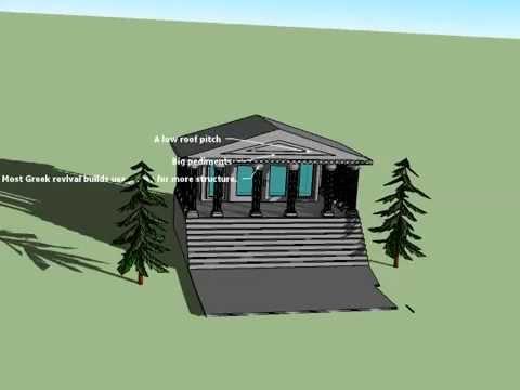 Greek Revival House (Sketch-Up)