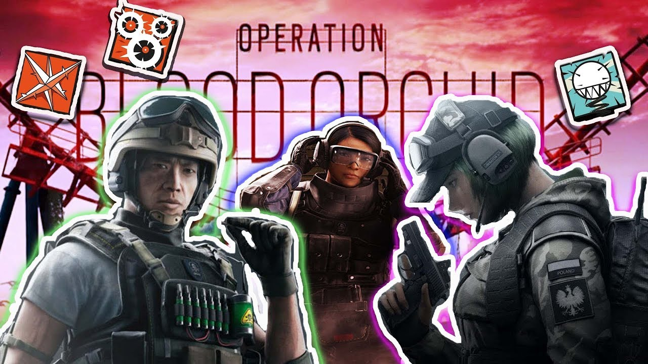 New Operators Rainbow Six Siege 2017 Lesion Ela Ying