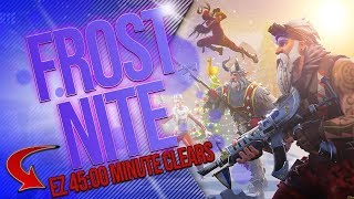 FORTNITE | EASY FROSTNITE CLEAR | Things you NEED to know to unlock KRAMPUS!