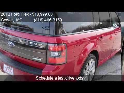 Ford Flex Titanium W Ecoboost Awd For Sale In Gower Mo