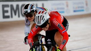 women s sprint gold final track cycling world cup cali colombia