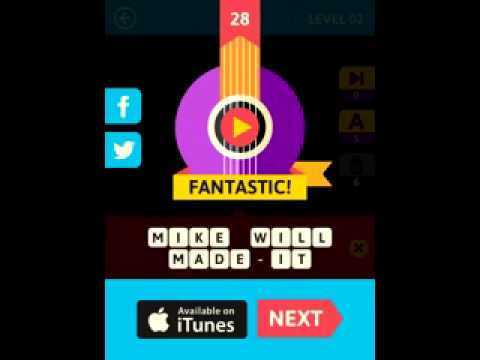 Icon Pop Song Quiz 2 Level 2 Game Answers