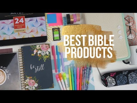 UPDATED BEST Supplies for your Bible & Journal - Markers, Pens, & Highlighters!
