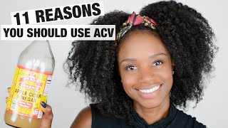 Natural hair regimen: 11 reasons to use APPLE CIDER VINEGAR