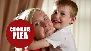 A mother whose epileptic son suffers from multiple seizure calls for cannabis aid