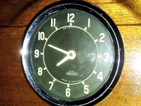 British Jaeger Electro-mechanical Car Dash Clock