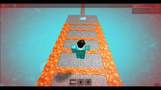 Minecraft IN ROBLOX/Roblox obby