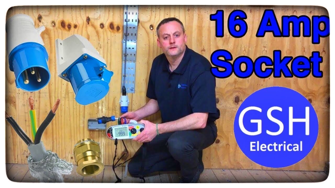 Testing Our 16 Amp Socket Outlet Circuit For Continuity Of Cpc Polarity Insulation Resistance Youtube