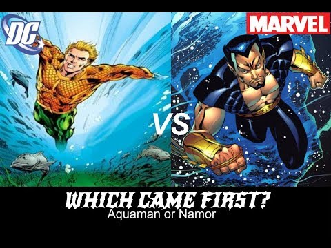 Which Came First Aquaman Or Namor Youtube