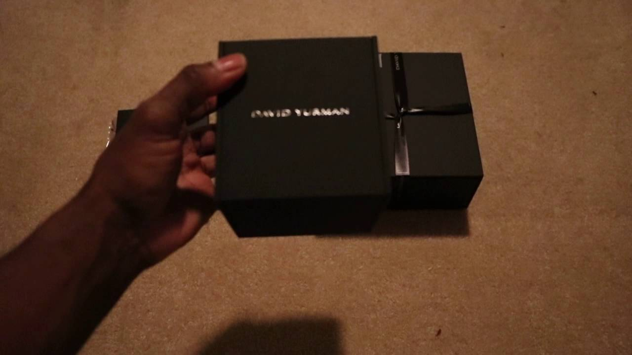 David Yurman Unboxing Mens Jewelry YouTube
