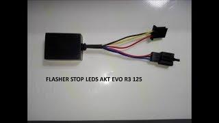Flasher para moto stop de led´s AKT Evo R3 / 125