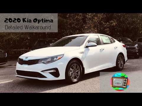 2020 Kia Optima LX Detailed Walkaround Video - The Best Optima Yet!