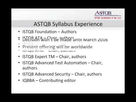 Introducing the ASTQB Mobile Testing Syllabus and Certification
