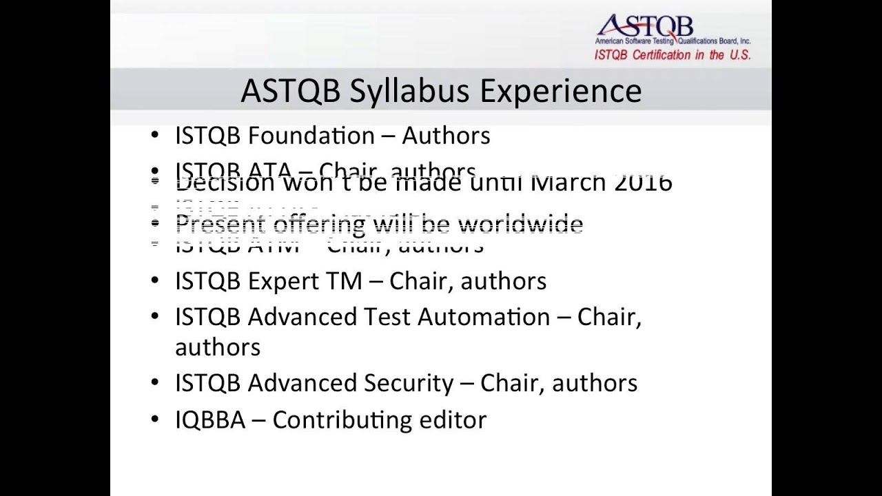 Introducing the astqb mobile testing syllabus and certification introducing the astqb mobile testing syllabus and certification 1betcityfo Image collections