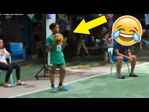 FUNNIEST SERVE EVER !? Funny Volleyball Videos (HD)