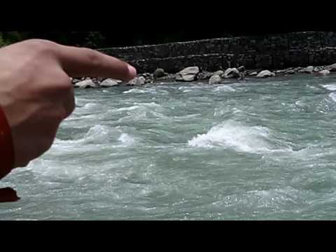 Beas River in Manali (H.P)
