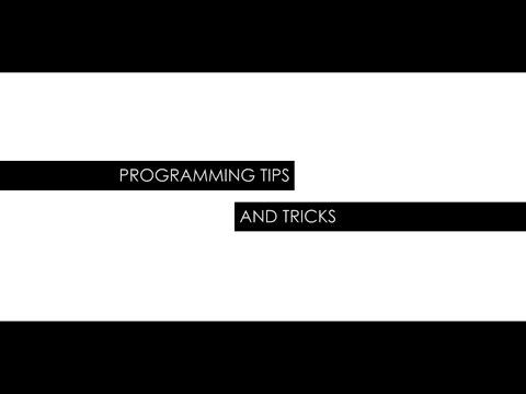 Programming Tips and Tricks - Lighting Insights Video!
