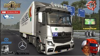 Euro Truck Simulator 2 (1.35)   Mercedes-Benz Actros MP4 fix v1.0 1.35x Kassel to Koln Germany Revisiting Phase 2 Krone Ownable Trailer by SCS Software + DLC's & Mods https://forum.scssoft.com/viewtopic.php?f=35&t=276682  Support me please thanks Support