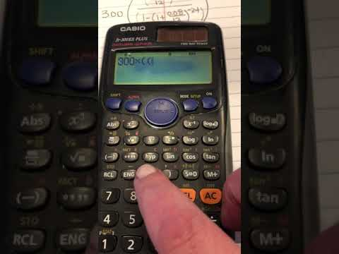 How To Calculate PMT On A Calculator
