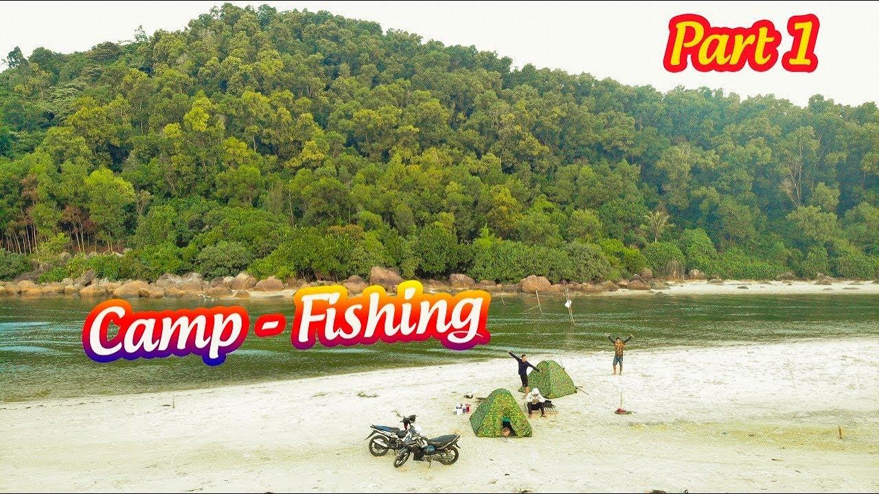 Cắm trại câu cá ở biển Tân Cảnh Dương bãi biển đẹp và hoang sơ nhất Huế