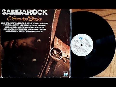 SambaRock - O Som dos Blacks - (Vinil Completo - 1981) - Baú Musical