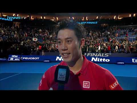 Nishikori Discusses Victory Over 'Idol' Federer In London 2018