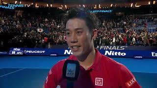 Nishikori Discusses Victory Over 'Idol' Federer In London 2018