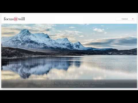 Classical Music for Studying • Working •Focusing • Concentrating •1 Hour