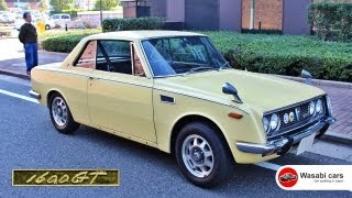 Chance Find: A RARE 1967 Toyota 1600GT (RT55) - Just 2,200 built