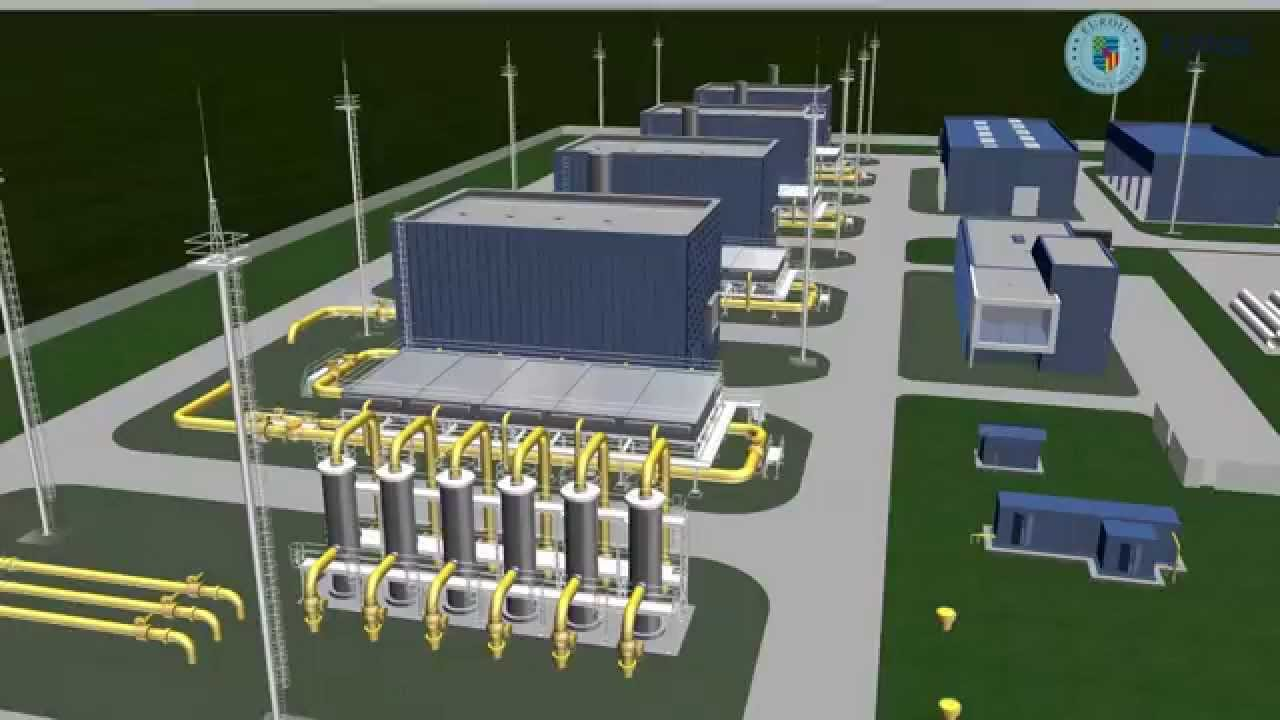Find A Gas Station >> Pipeline Facility - Compressor Station - 4k Ultra HD video (EUROIL Industrial & Trade Co. Ltd ...