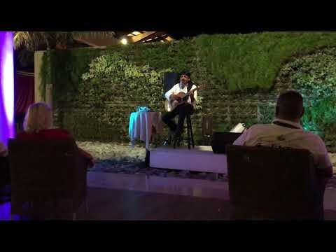 Romantic Spanish Guitar Playing Solo Artist