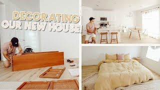 decorating our new house + mini target haul!