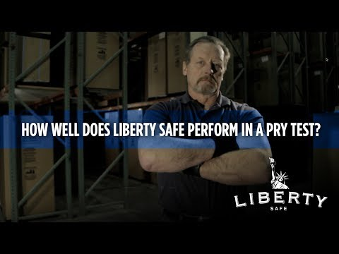 How do Liberty Safes Perform in a Pry Test?