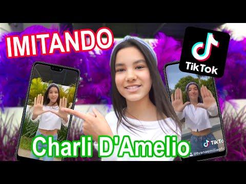 IMITANDO EL TIK TOK DE CHARLI D'AMELIO   TV Ana Emilia