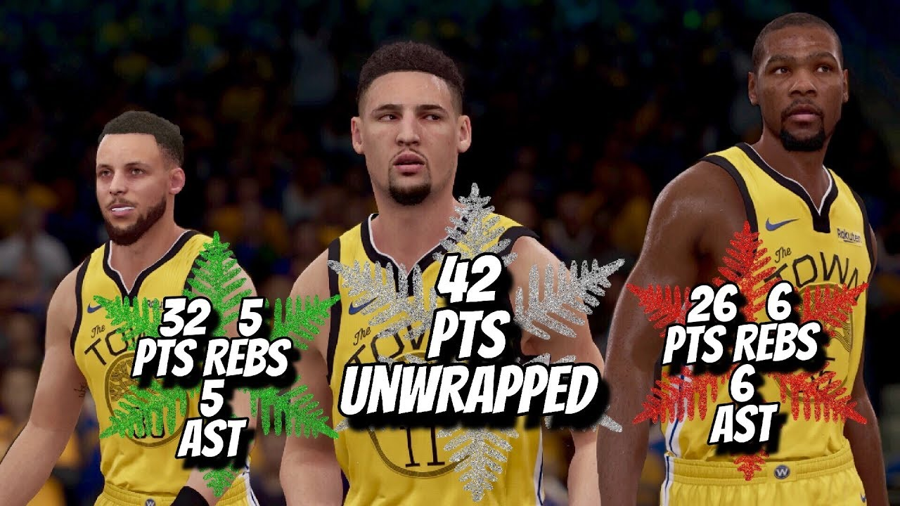 check out 93cb8 db623 Klay Thompson, Stephen Curry, & Kevin Durant Christmas Highlights vs Lakers  (12.25.2018) NBA LIVE 19
