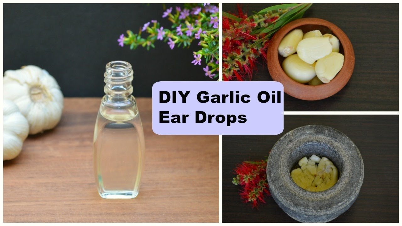 garlic oil for ear infection in adults