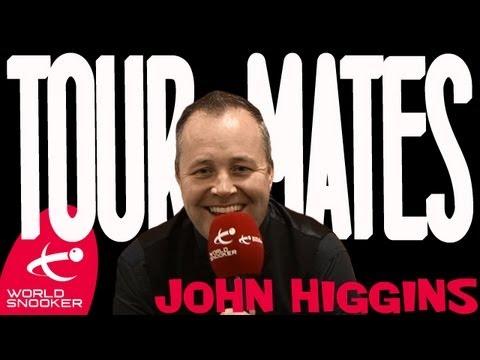 John Higgins Tour Mates