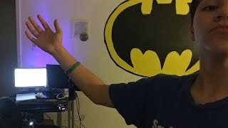 5)Painted Batman symbol on WALL!!! Time Lapse!!
