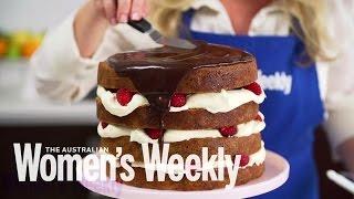 Poppy Seed and Hazelnut Layer Cake  Recipes