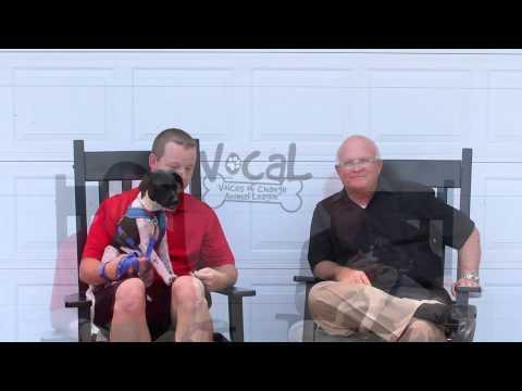 Dennis Baxley and son Jeffrey Baxley on behalf of V.O.C.A.L.