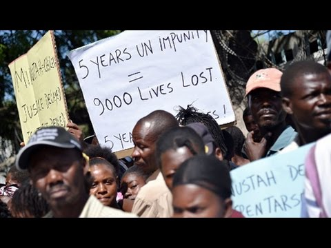 UN Admits Role in Haiti's Cholera Outbreak After Years of Denial
