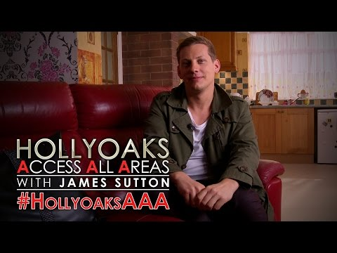 #HollyoaksAAA with James Sutton