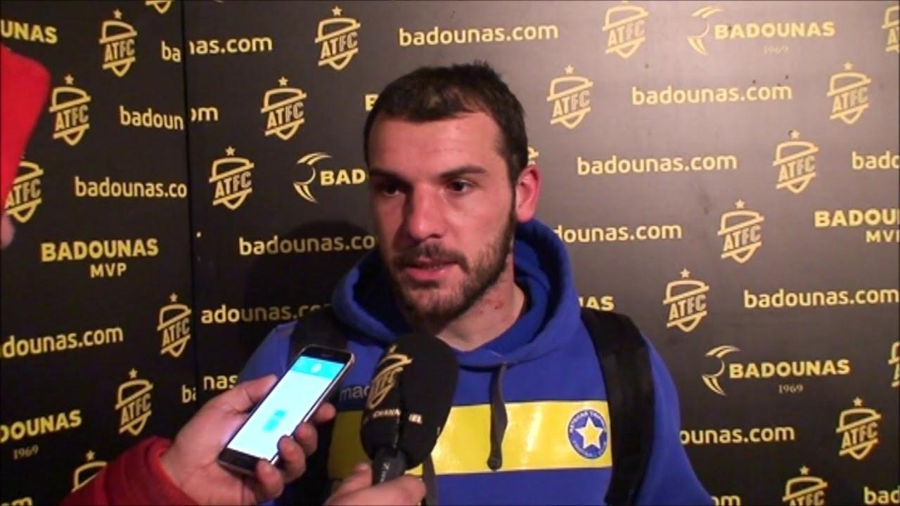Νίκος Καλτσάς - Ποδοσφαιριστής Αστέρα Τρίπολης
