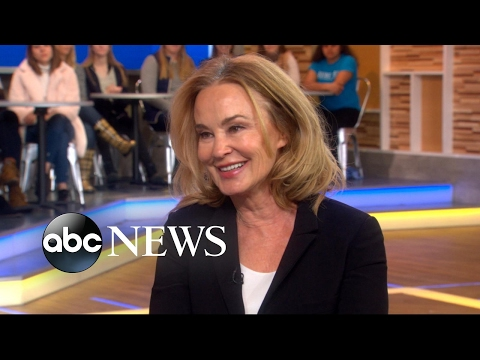 Jessica Lange dishes on 'Feud: Bette and Joan' live on 'GMA'