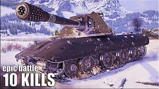 Е 100 РАЗДАЛ ЛЮЛЕЙ 🌟 EPIC BATTLE World of Tanks