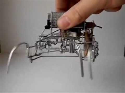 Роботы пауки своими руками