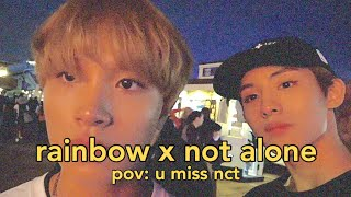 watch this nct video when you're sad (rainbow x not alone)